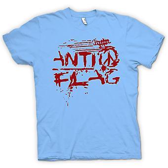 Kvinner t skjorte Anti flagg U.S. Punk Rock Band