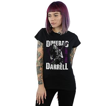 Pantera Women's Dimebag Darrell Guitar T-Shirt