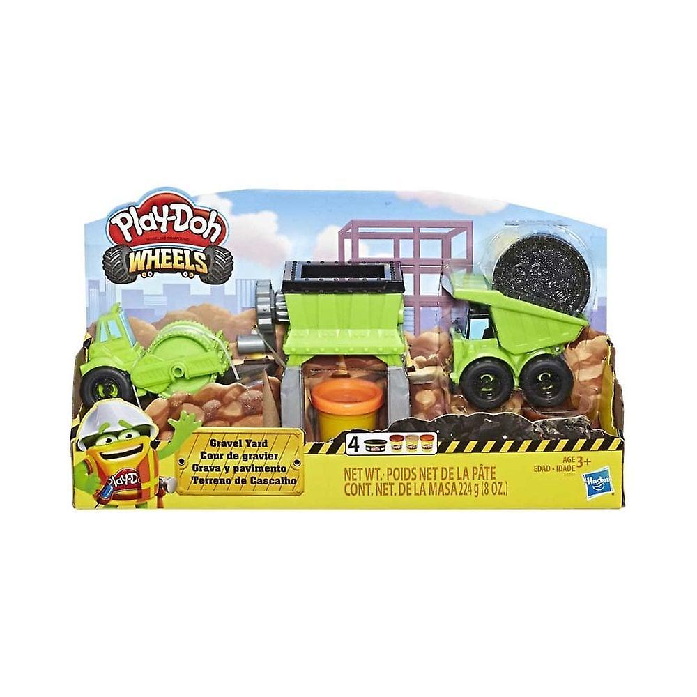 Play-Doh Gravel Yard