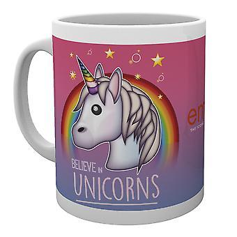 Emoji Croire en Licornes Mug