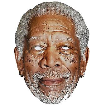 Morgan Freeman Single 2D Card Party Fancy Dress Mask