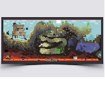 Poster - Minecraft - Cross Section ScreenShot Wall Art New Gifts Licensed j2711
