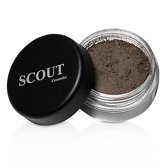SCOUT Cosmetics Brow Dust - Marrone scuro 2g/0,07oz