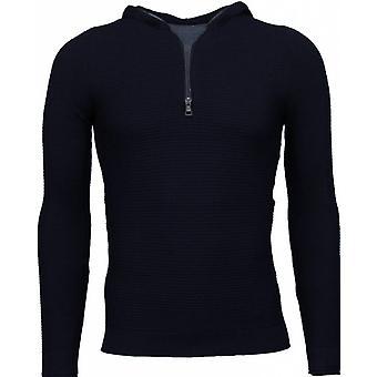 Long Tee ribbing-sweatshirt-black