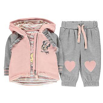 Karakter Baby Kids 3 delige set kleding korte mouw bemanning hals Hooded zip volledige
