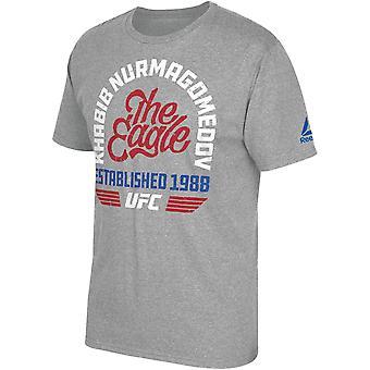 UFC Khabib Nurmagomedov Eagle Wings T-Shirt - Gray