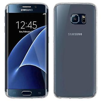Samsung Galaxy S7 Edge Hoesje Siliconen Transparant - CoolSkin3T