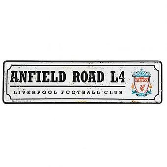 Liverpool vindu skilt retro