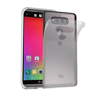 Cadorabo Hülle für LG V20 Case Cover - Handyhülle aus flexiblem TPU Silikon – Silikonhülle Schutzhülle Ultra Slim Soft Back Cover Case Bumper
