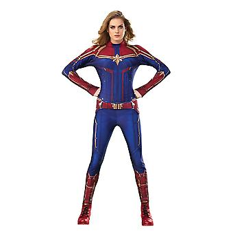 Women Captain Marvel Costume - Captain Marvel