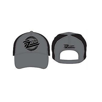 ZZ Topp Baseball Cap Circle Band Logo Eliminator ny Offisiell strapback
