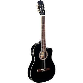 Stagg C546TCE Elektro akustische Gitarre - Schwarz