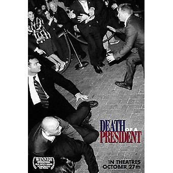 Presidentin kuolema (kaksipuolinen säännöllinen) alkuperäinen elokuva juliste