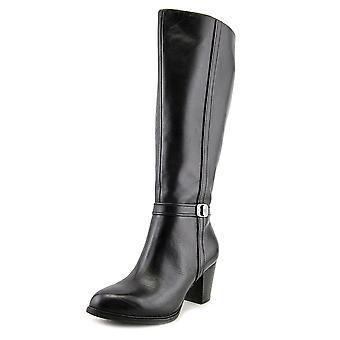 Giani Bernini Womens Raiven 2 Leather Closed Toe Knee High Fashion Boots