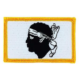 Patch patch patch Brode vlag Corsicaan vlag Teate de Moor Thermocollant insigne Blason