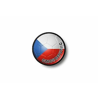 Patch badge Ecusson Brode prints Thermo collant vlag ballon voet rep Tsjechisch