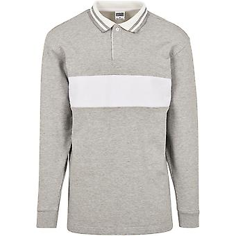 Urban Classics Men's Sweatshirt Rugby Panel