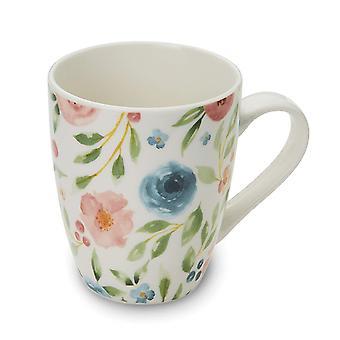 Cooksmart Country Floral Multi Mug