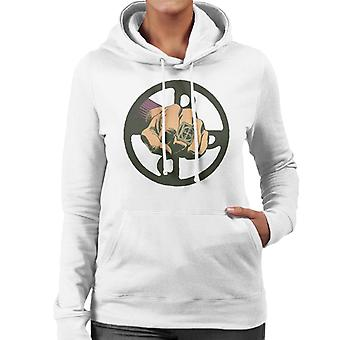 The Phantom Punch Ring Women's Hooded Sweatshirt