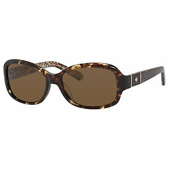 Kate Spade Cheyenne/P/S CX4/VW Havana/Polarised Dark Brown Sunglasses