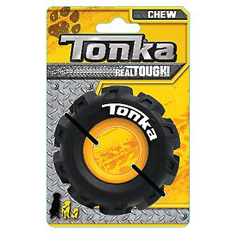 Tonka Seismic Tread Tire Chew Toy With Insert - 3.5