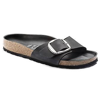 Birkenstock Madrid stort spänne NL sandal 1006523 svart smal