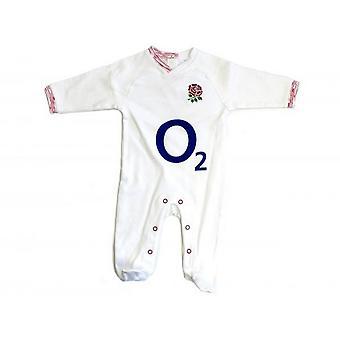England RFU Rugby Unisex Baby Toddler Sleepsuit
