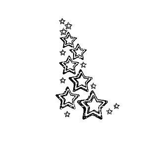 Carabelle студия «Угол звезды» цепляться за штамп, белый/прозрачный, Mini