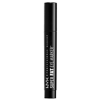 NYX Professional Make-up Super Fat Eye Marker, Carbon Black, 0.1 Fl. Oz.