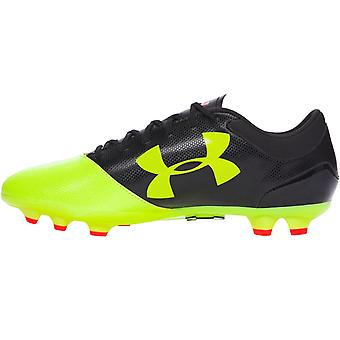 Under Armour Mens Spotlight DL Firm Ground Football Soccer Boots - Yellow