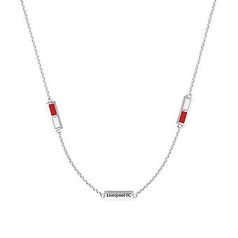 LiverPool Pendant Necklace In Sterling Silver Design by BIXLER