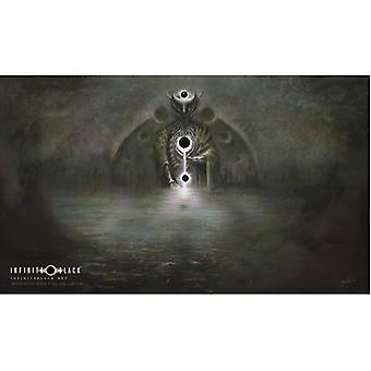 White Night Black Stars Dim Carcosa Playmat