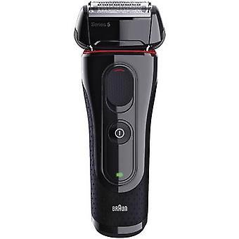 Braun Foil shaver Black, Red
