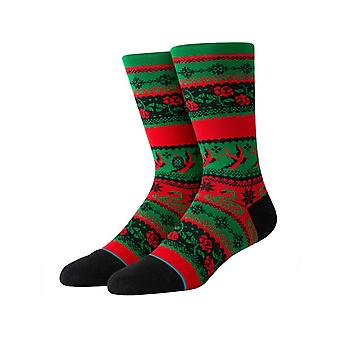 Stance Stocking Stuffer Crew Socks in Green