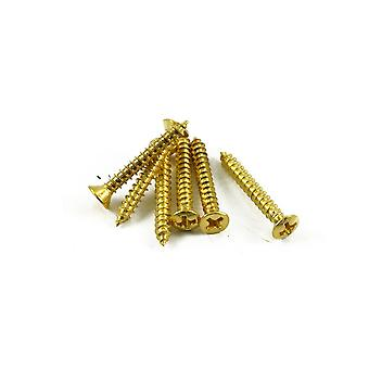 WD Music Strap Button Screw Gold (bag Of 6)