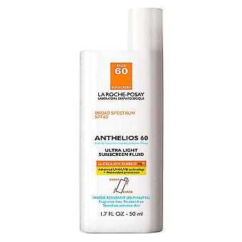 La roche-posay anthelios ultra light face sunscreen, spf 60, 1.7 oz