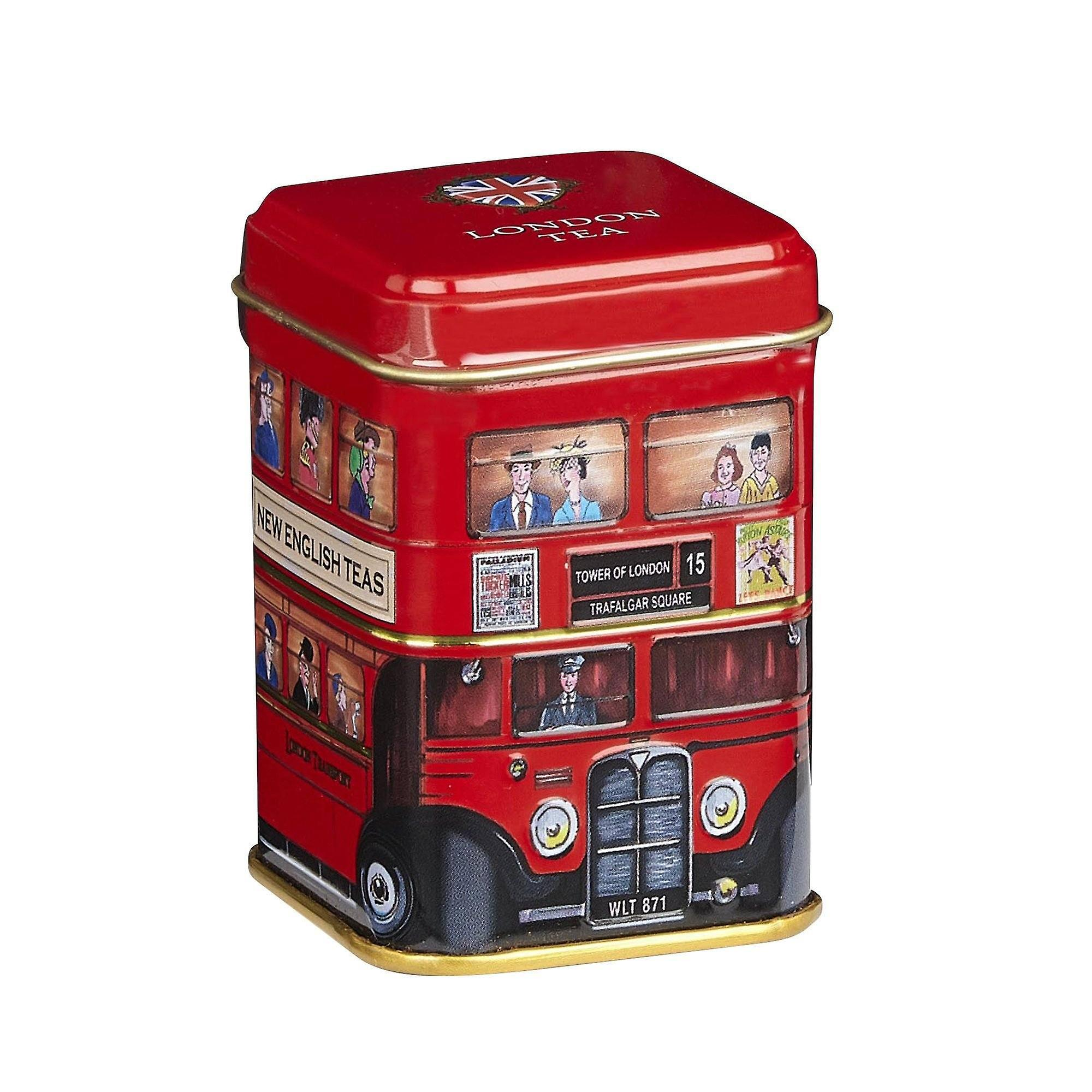 London bus english breakfast tea mini tin 25g