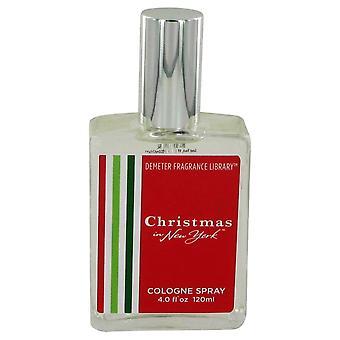 Demeter av Demeter jul i New York Köln spraya 4 oz/120 ml (kvinnor)