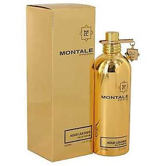 Montale Aoud leder van Montale Eau de parfum spray (unisex) 3,4 oz (vrouwen) V728-540123