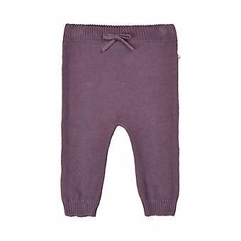 Minymo-Pipi Minymo Purple Baby Winter Pantalones