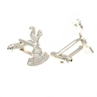 Tottenham Hotspur Silver Plated Formed Cufflinks