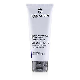DELAROM Eye Make-Up Remover Gel - normaali herkälle iholle 75ml/2.5 oz