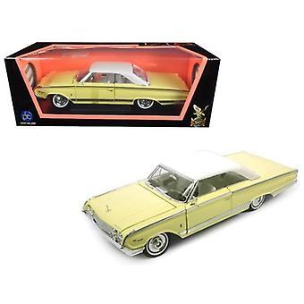 1964 Mercury Marauder Yellow 1/18 Diecast Model Car By Road Signature
