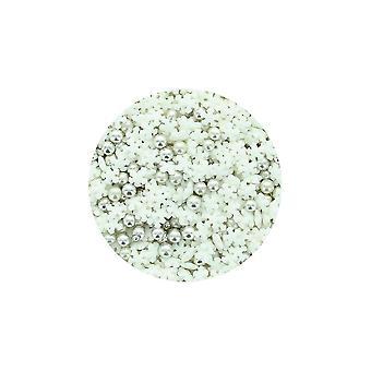 Cupcakes roxos deixá-lo neve polvilhar mix - 1kg