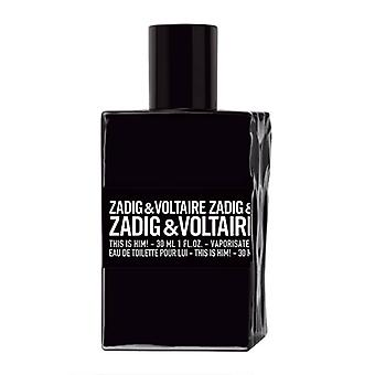 Zadig & Voltaire This is Him Edt 30ml