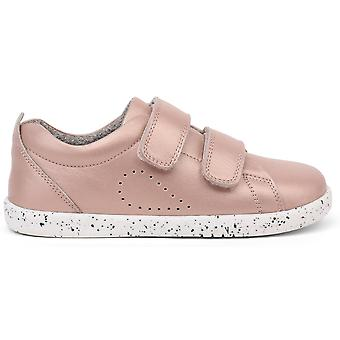 Bobux Kid+ Girls Grass Court Shoes Rose Gold