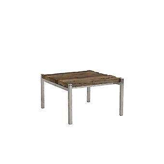 Mesa de Café Leve e Vivo 65x71x40cm Sotos Wood-Nickel