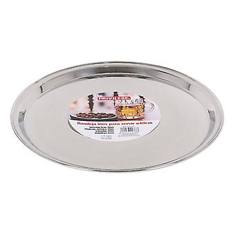 Tray Privilege Stainless steel Circular (ø 40 x 2 cm)