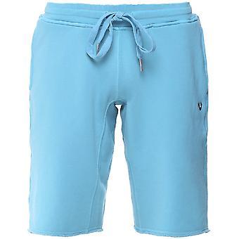 True Religion Raw Hem Sweat Shorts