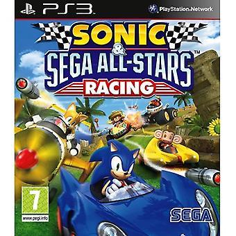 Sonic & Sega All-Stars Racing jogo de PS3 [Básico]